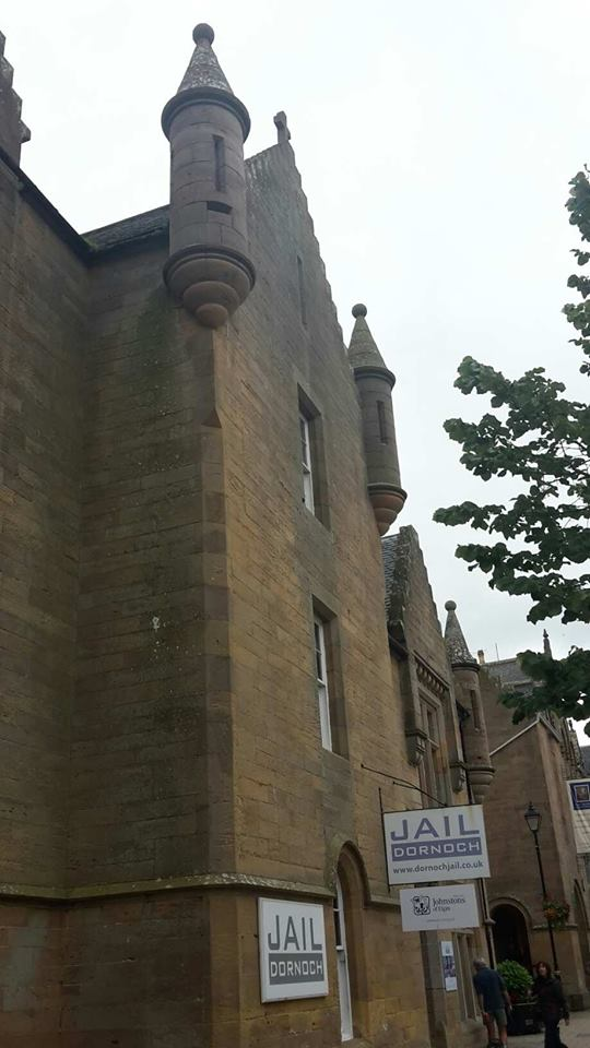 Dornoch Jail (though Janet was held in the chapter house of the cathedral)